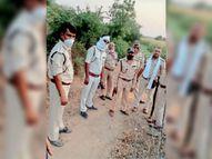 किसान ने खेत में देखा तेंदुआ मौके पर पहुंचा वन विभाग बड़वानी,Barwani - Dainik Bhaskar