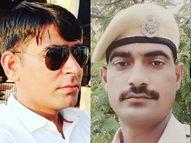 भीलवाड़ा में अफीम तस्करों ने पुलिस के दो चेक प्वॉइंट पर फायरिंग की, दो कांस्टेबलों ने दम तोड़ा|भीलवाड़ा,Bhilwara - Dainik Bhaskar