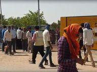 एक श्रमिक की जोधपुर में इलाज के दौरान मौत, जानकारी मिलते ही प्लांट छोड़कर भागे श्रमिक नागौर,Nagaur - Dainik Bhaskar
