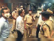 पुलिस की सख्ती के बाद 7 बजे बाजार बंद, लाेगाें से घराें में रहने की अपील|अजमेर,Ajmer - Dainik Bhaskar