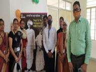 CM ने VC के जरिए महिलाओं से की बात, कस्तूरबा गांधी के योगदान को याद करते हुए लगाई प्रदर्शनी के बारे में बात की|सीकर,Sikar - Dainik Bhaskar