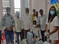 कई सेंटर पर आज नहीं हुआ वैक्सीनेशन, SDM बोलीं-5 जगहों पर शिविर लगाकर किया जा रहा टीकाकरण|सीकर,Sikar - Dainik Bhaskar