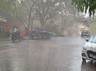 झमाझम बारिश से मिली गर्मी से राहत, आज भी छाएंगे बादल; मौसम विभाग ने दी चेतावनी|धनबाद,Dhanbad - Dainik Bhaskar