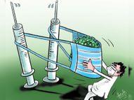 मुंह ढककर न रहे तो खुद भी होंगे बीमार, औरों को भी करेंगे|धनबाद,Dhanbad - Dainik Bhaskar
