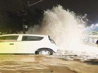 शहर की टंकियां रह गईं खाली; अंबिकापुरी और चंदननगर के आसपास के क्षेत्रों में नहीं मिला पानी|इंदौर,Indore - Dainik Bhaskar