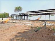 जिले में यह 34वीं मौत, मुक्तिधाम परिसर में दोपहर तक 5 लोगों की जली चिता बड़वानी,Barwani - Dainik Bhaskar