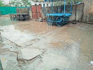 चक्रवाती हवा का घेरा बना और नमी अधिक होने से दोपहर में आधे घंटे बारिश सीहोर,Sehore - Dainik Bhaskar