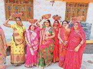 कोरोना संक्रमण की गाइडलाइन का किया जा रहा पालन खंडवा,Khandwa - Dainik Bhaskar