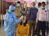 एसएनएमएमसीएच में कल से हर रोज तीनाें शिफ्टों में हाेगी, 3.5 हजार सैंपलों की जांच|धनबाद,Dhanbad - Dainik Bhaskar