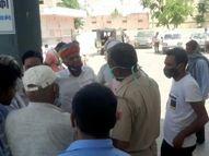 कैम्पर ने सड़क किनारे पैदल चल रहे ग्रामीण को मारी टक्कर, मौके पर हुई मौत नागौर,Nagaur - Dainik Bhaskar