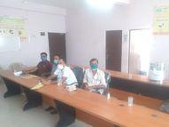12 संचालक मंडल सदस्यों का हुआ निर्वाचन, अब कल अध्यक्ष पद के लिए सुबह 9 बजे से शुरू होगी चुनावी प्रक्रिया नागौर,Nagaur - Dainik Bhaskar