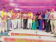 अग्रवाल समाज महाराजा अग्रसेन के नाम की निकालें पहली मिलनी : गर्ग करनाल,Karnal - Dainik Bhaskar