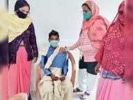 26 केंद्रों पर 588 लोगों ने लगवाया कोरोना का टीका|राणापुर,Ranapur - Dainik Bhaskar