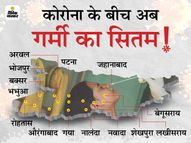 बिहार के लिए मौसम विभाग ने जारी किया अलर्ट, कुछ जिलों में पारा 41 तक जाएगा|पटना,Patna - Dainik Bhaskar