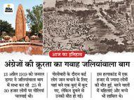 जलियांवाला बाग में डायर ने निहत्थे भारतीयों का किया था नरसंहार, 21 साल बाद उधम सिंह ने लिया बदला|देश,National - Dainik Bhaskar