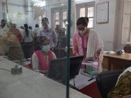 33% ही रहनी थी उपस्थिति, पहले से नहीं थी तैयारी, रविवार के कारण नहीं बना रोस्टर|पटना,Patna - Dainik Bhaskar