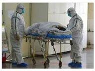 जिले में कोरोनावायरस की डरावनी रफ्तार; पिछले 10 दिनों में 15,328 संक्रमित, 144 लोगों की मौत हुई|भिलाई,Bhilai - Dainik Bhaskar