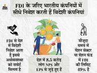 पेंशन सेक्टर में FDI की सीमा 74% हुई तो आप और आपकी नेशनल पेंशन स्कीम पर क्या होगा असर...जानिए कंज्यूमर,Consumer - Dainik Bhaskar