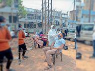 बिना मास्क मिले 1357 लाेगाें को पकड़ कर ऑन-स्पॉट कोरोना जांच, 5 पाॅजिटिव मिले|जमशेदपुर,Jamshedpur - Dainik Bhaskar
