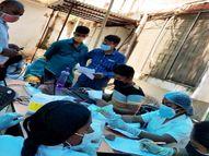 पटना में कोवैक्सीन का दूसरा डोज लेने वालों से कहा जा रहा- स्टॉक खाली है, बाद में आएं|पटना,Patna - Dainik Bhaskar