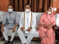 बीजेपी का 4 सदस्यीय दल जाएगा, सांसद ने कहा- गहलोत सरकार एक समुदाय को संरक्षण दे रही, निष्पक्ष जांच नहीं होने दे रही|कोटा,Kota - Dainik Bhaskar