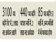 EWS में आयु सीमा की छूट; 5 लाख बेरोजगार अब कर सकेंगे आवेदन, हर भर्ती में पद भी बढ़ेंगे|सीकर,Sikar - Dainik Bhaskar