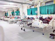 700 संक्रमित वेंटिलेटर पर, इनमें से कई की हालत नाजुक, 51 कोविड हॉस्पिटल में वेंटिलेटर बेड फुल|भोपाल,Bhopal - Dainik Bhaskar