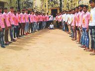 नशा व मृत्युभोज नहीं करने का संकल्प लेने वालों के लिए आईपीएल की तर्ज पर कबड्डी प्रतियोगिता|भीलवाड़ा,Bhilwara - Dainik Bhaskar