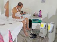 धनबाद में दो की रुकीं सांसें, 152 मरीज ऑक्सीजन सपोर्ट पर; 140 सामान्य बेडों पर ऑक्सीजन की व्यवस्था की गई|धनबाद,Dhanbad - Dainik Bhaskar