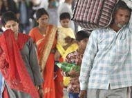 मुंह पर मास्क नहीं और 2 गज की दूरी से भी परहेज, नतीजा 3 दिन में 25 मौत, 9399 संक्रमित|पटना,Patna - Dainik Bhaskar