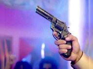 पत्नी से फाेन पर बात करने के 5 मिनट बाद ही, ठेकेदार की गाेली मार कर हत्या|रांची,Ranchi - Dainik Bhaskar
