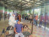 लगातार दूसरे दिन 3 मौत, एक दिन में 28 छात्र सहित रिकॉर्ड 318 केस करनाल,Karnal - Dainik Bhaskar