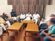 कनेक्शन के लिए एडवांस सिक्योरिटी लेने का नियम वापस ले सरकार: गर्ग|पानीपत,Panipat - Dainik Bhaskar