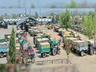 जिले में 7281 किसानाें ने 53 हजार 480 मीट्रिक टन गेंहू खरीदा, 4.75 कराेड़ का किया भुगतान होशंगाबाद,Hoshangabad - Dainik Bhaskar