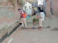 शहर में नपा ने नालियों की सफाई में दिखाई तेजी, शहर में बारिश के लिए अभी से नपा की तैयारी शुरू होशंगाबाद,Hoshangabad - Dainik Bhaskar
