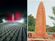 बाग की पहचान बन चुकी 5 जगहें अब बिल्कुल नए रंग-रूप में; 13 माह से बाग बंद, श्रद्धांजलि तक नहीं दे पा रहे शहीदों के परिवार|देश,National - Dainik Bhaskar