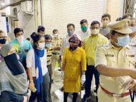 नालासोपारा में ऑक्सीजन की कमी से 3 घंटे में हुई 7 कोरोना संक्रमित मरीजों की मौत, नाराज परिजनों ने हॉस्पिटल में किया हंगामा|देश,National - Dainik Bhaskar