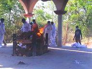 अप्रैल के शुरुआती 12 दिनों में 22 मरीजों की मौत, जबकि पिछले 3 महीने में संक्रमण से 20 की गई थी जान|उदयपुर,Udaipur - Dainik Bhaskar