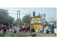 कहीं दाेबारा लाॅकडाउन न लग जाए, इसी डर से प्रवासी मजदूराें के पलायन में आरही तेजी|पानीपत,Panipat - Dainik Bhaskar
