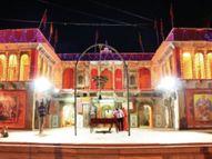 मंदिरों में श्रद्धालुओं के प्रवेश पर रोक, इसलिए घर पर ही देवी दरबार सजाकर करें आराधना|ग्वालियर,Gwalior - Dainik Bhaskar