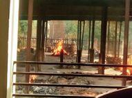 11 दिन में 43 मौतें, जबकि 3 मुक्तिधाम में 24 घंटे में 23 कोविड शव पहुंचे इंदौर,Indore - Dainik Bhaskar
