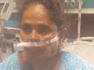 हमीदिया के कोरोना वार्ड में भर्ती महिला की मौत के बाद कर्मचारियों ने उतार लिए सोने के झुमके|भोपाल,Bhopal - Dainik Bhaskar