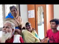 मांझी की 2 साल से लापता सयमुन घर वापस लौटी, लोग इसे पाक माह की बरकत बता रहे बिहार,Bihar - Dainik Bhaskar