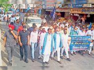 भारतीय वाल्मीकि धर्म समाज तथा अखिल भारतीय सफाई मजदूर यूनियन के संयुक्त तत्वावधान में आयोजन हुआ|श्रीगंंगानगर,Sriganganagar - Dainik Bhaskar