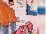 खपरी दरबार में लगाया शिविर, एंटीजन किट समाप्त होने पर 100 लोग बिना टेस्ट कराए लौटे|उदयपुर,Udaipur - Dainik Bhaskar