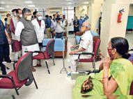 टीका उत्सव में घटा टीकाकरण, तीसरे दिन56हजार को ही लगा पटना,Patna - Dainik Bhaskar