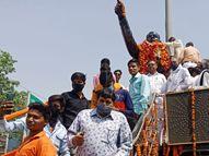 युवाओं ने कहा-बाबा साहब की बातों को अमल में लाने की जरूरत है; हम उनके बताए मार्ग पर चलकर दलितों का उत्थान कर सकेंगे|अलवर,Alwar - Dainik Bhaskar