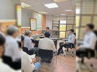 मानेसर निगम क्षेत्र में अतिक्रमण के खिलाफ कार्रवाई की तैयारी, डीटीपी ने इन्फोर्समेंट टीमों के साथ की बैठक|गुड़गांव,Gurgaon - Dainik Bhaskar