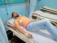 रात 9 बजे पुलिस कर रही थी फ्लैग मार्च, 9:30 बजे गोली मार मर्चेंट नेवी अफसर से कार लूट ले गए बदमाश|रोहतक,Rohtak - Dainik Bhaskar