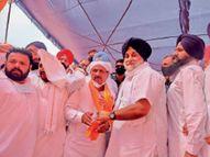 कांग्रेस छोड़ते ही शिअद में जोसन को बनाया महासचिव|जलालाबाद,Jalalabad - Dainik Bhaskar